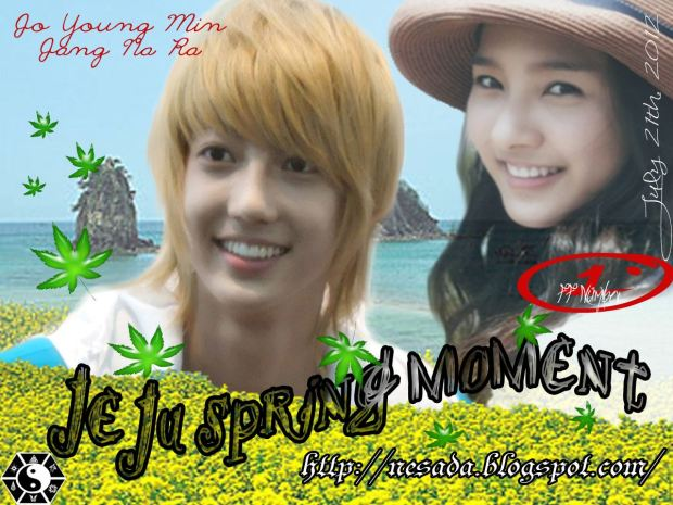 youngmin, jeju, spring, fanfic