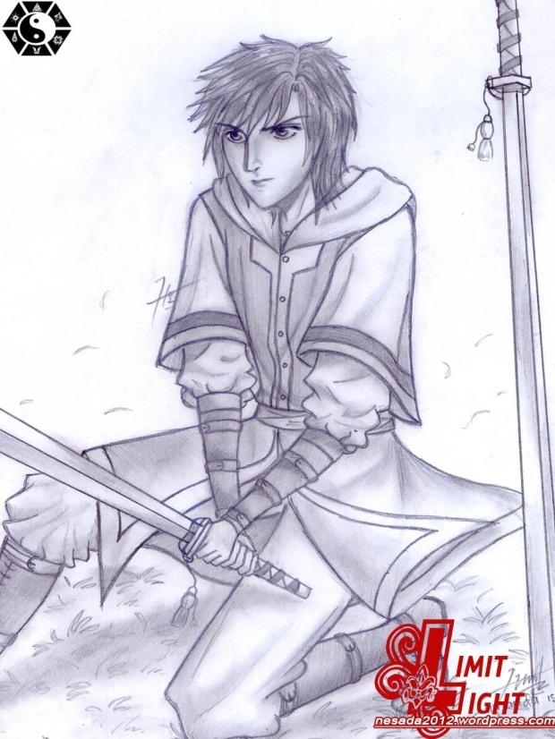 sketsa, anime, anime sketsa, scetch, sketch anime, gambar anime, gambar pensil